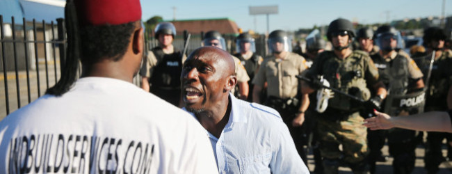 Ferguson and the Militarization of Police