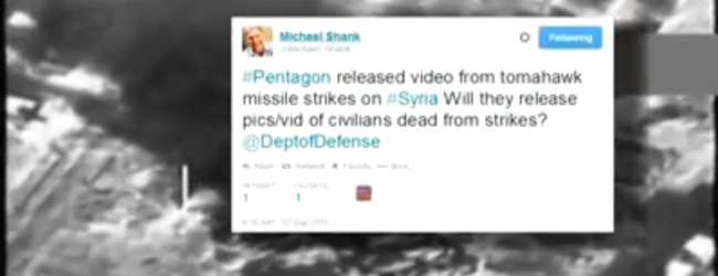 The Other War: Military posts airstrike videos on YouTube, Twitter
