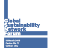 Launch of the Global Sustainability Network Forum at the Vatican