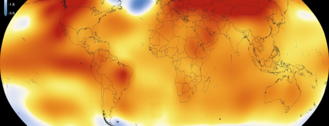 We're Fiddling as the Climate Burns