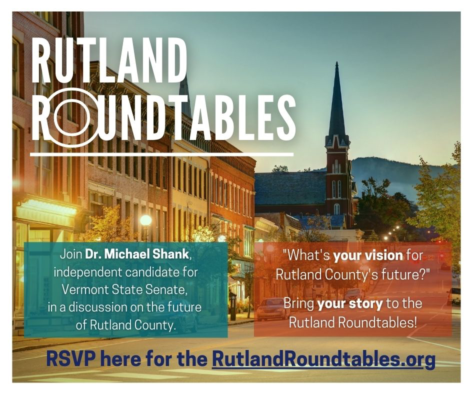 Rutland Roundtables: Your Story, Your Vision