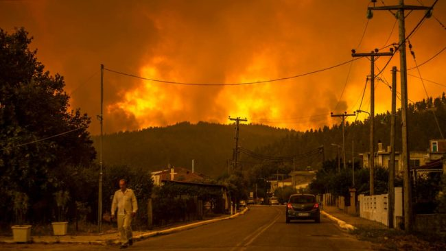 Extreme Weather, Global Changes Violate our Property Rights